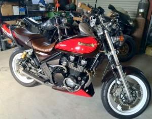 バイク改造写真カワサキのゼファー