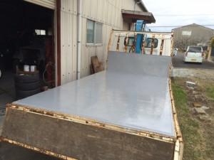 鉄板補修 トラック 2トン